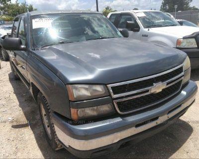 Salvage Blue 2006 Chevrolet Silverado 1500