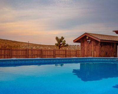 NEW Listing! Desert Dreams - Modern, Cozy Home with Pool & Backyard Oasis! - Joshua Tree