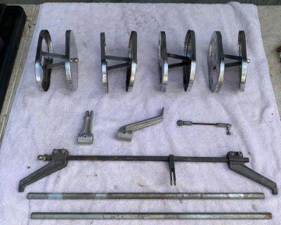 Weber dual carburetor lot