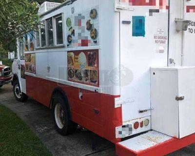 Used Chevrolet Step Van Kitchen Food Truck / Mobile Food Unit