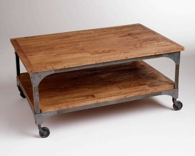 Metal Aiden Coffee Table /The World Market