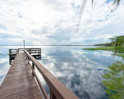 Lake Louisa WDW 20min LakeviewCottage&GuestHouse by the Pool/Fishing Dock/Beach - Clermont
