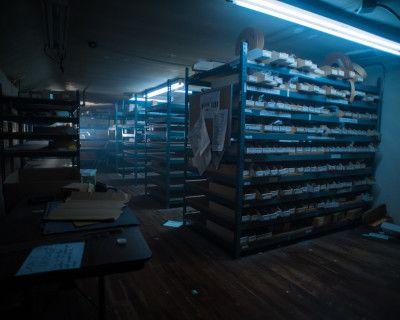 Abandoned Grungy Warehouse Stockroom, Alhambra, CA