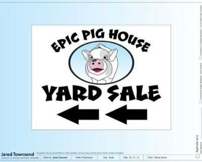 Annual Gigantic Garage Sale