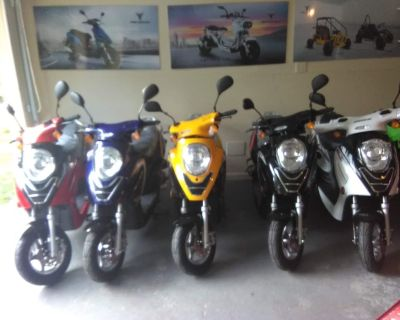 BRAND NEW SCOOTERS IN BUFORD ALL COLORS IN STOCK!!