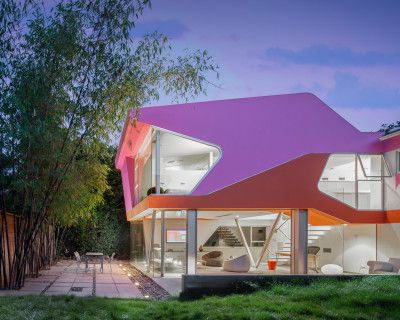 Modern Architectural Gem Flooded With Natural Light, Los Angeles, CA