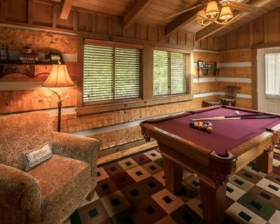 Bear Den/Cozy Log cabin w/ Wood Burning Fireplace - Close to High Country Attractions, Last minut... - Seven Devils
