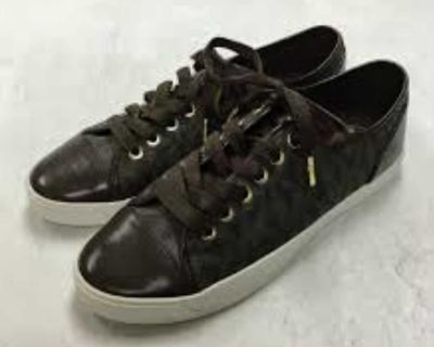 Ladies Michael Kors Sneakers (size 7)