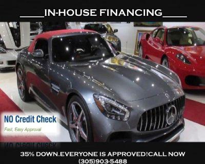 2018 MERCEDES-BENZ AMG GT ROADSTER/ NO CREDIT CHECK!!!!!!