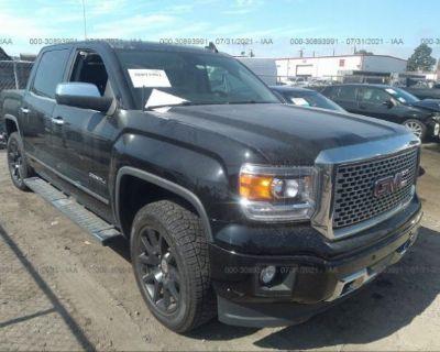 Salvage Black 2015 Gmc Sierra 1500