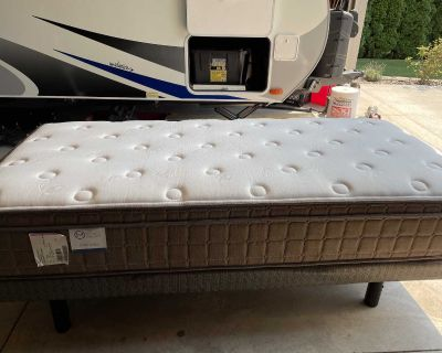 ELECTRIC ADJUSTABLE BASE BED, TWIN XL