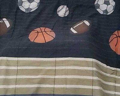 Twin Boys or Girls Sports Comforter