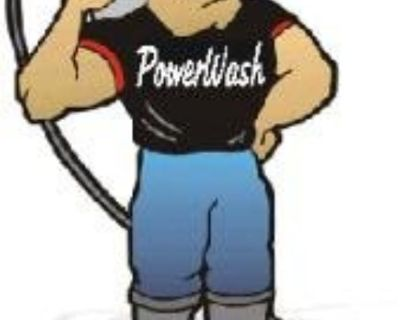 20% off full exterior power wash