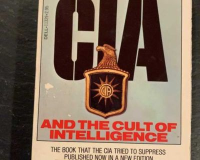 The CIA and the Cult of Intelligence by Marchetti and Marks