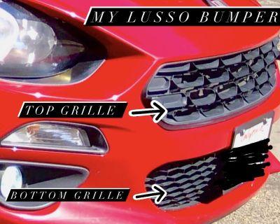 FIAT LUSSO to ABARTH bumper conversion?