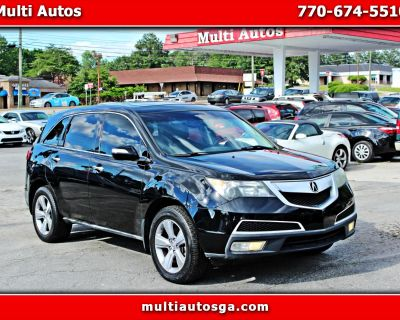 Used 2012 Acura MDX 6-Spd AT