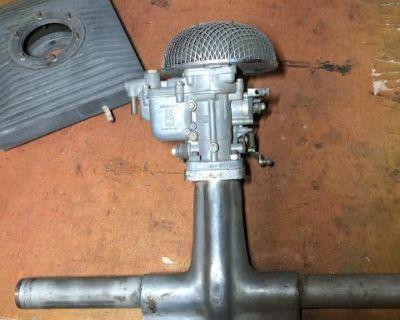 Weber 28/36 DCD 25 R carburetor manifold cleaner