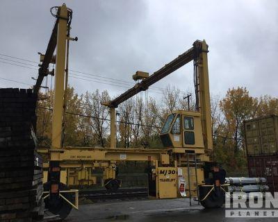 2008 (unverified) MiJack MJ30 60000 lb 4x2 Gantry Crane