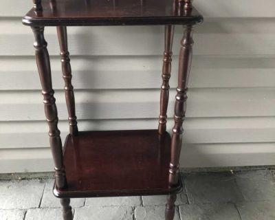 Beautiful little antique solid wood table