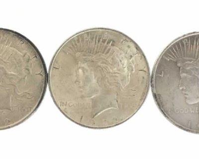 EJ's July 30 U.S. Silver Dollar Coins