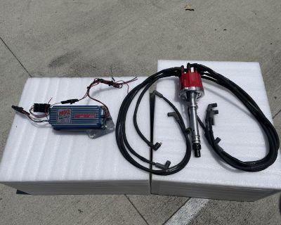 MSD distributor and ignition Box