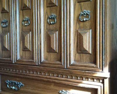 Antique Drawer closet