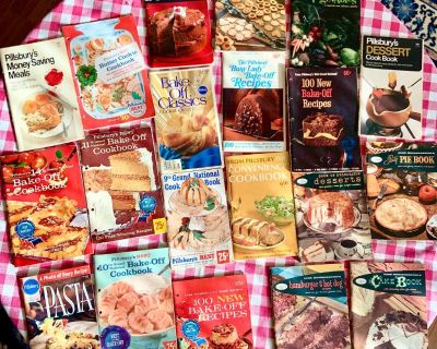 Vintage COOKBOOK SALE -1 for -$10/ 3 for -$20/ 5 for -$25