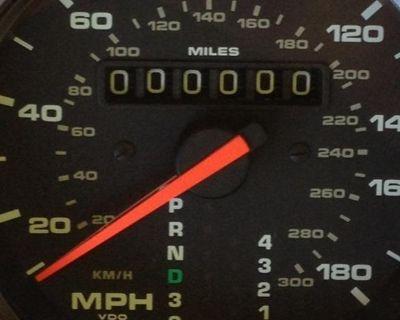 Porsche Speedometer Gauge Odometer fix 964 993 968