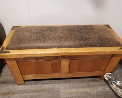 Coffee table/end table and cedar chest