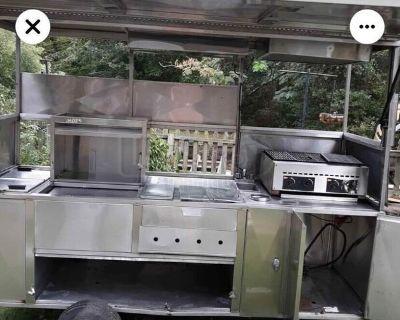 Hot Dog Food Vending Concession Cart | Used Street Food Cart