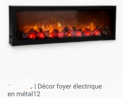 ELECTRIC FIREPLACES 2 SIZES DECORATIVE ACCENT