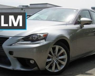2015 Lexus IS IS 250 Crafted Line