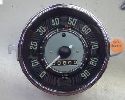 67-only Beetle speedometer- Professionally restore