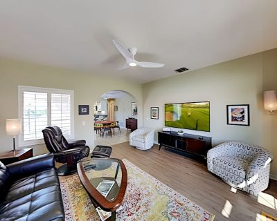 Mesquite Country Club | Corner-Unit with 2 Patios | Pool, Hot Tub & Tennis - Palm Springs