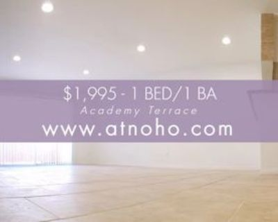 11020 Hesby Street ##1, Los Angeles, CA 91601 1 Bedroom Apartment