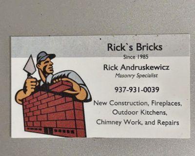 Rick's bricks masonry specialist