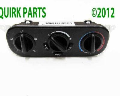 2007-2010 Jeep Wrangler A/c Heater Control Unit Module Mopar Genuine Oem New