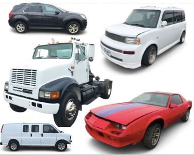 50+ Abandoned & Recovered Vehicles
