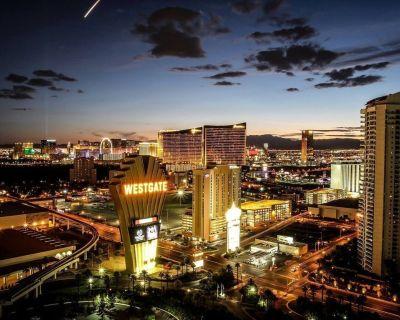 Westgate Las Vegas Lux 1 Bdrm Suite w/Sofa Bed/Living Rm/2 Baths/Free Breakfast - Las Vegas