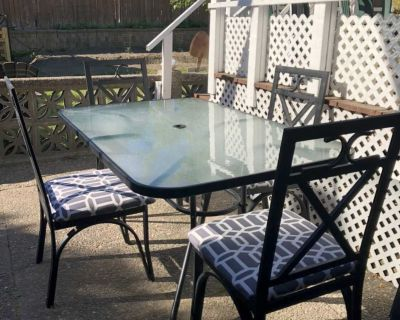 Outdoor Dining Patio Set Table