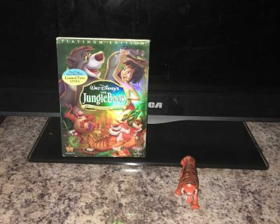 Lot Of Disney The Jungle Book DVD And Toy