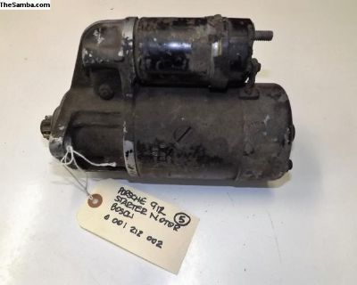 Porsche 912 Bosch Starter Motor