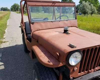 1943 Willys Military Jeep