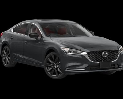 New 2021 Mazda6 Carbon Edition FWD 4dr Car