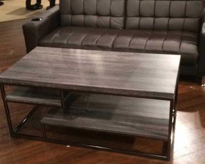 Weathered Grey Coffee Table