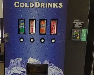 2017 Able Cashless Wall-Mount Tabletop Soda Vending Machines