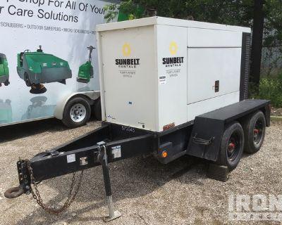 2011 (unverified) Doosan G70WJD-2A-T3 72 kVA Mobile Stand-By Gen Set