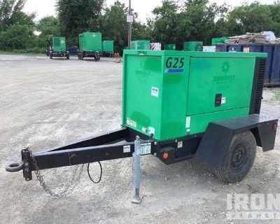 2013 Doosan Infracore G25WMI-2A-T4I 25 kVA Mobile Gen Set