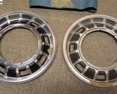 NOS Dasher Wheel Trim Rings