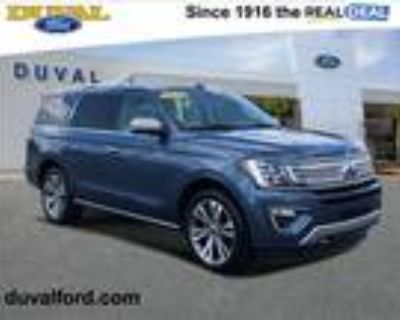 2020 Ford Expedition Platinum 4WD Ford Certified